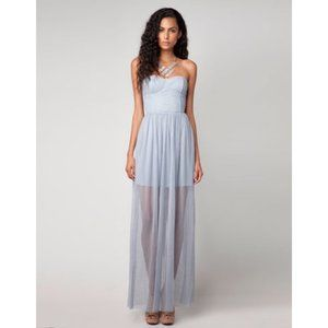 Bershka Sleeveless Cocktail Corset Formal Dress